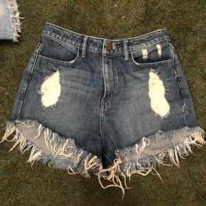 Show me your mumu jean shorts. NWOT!!